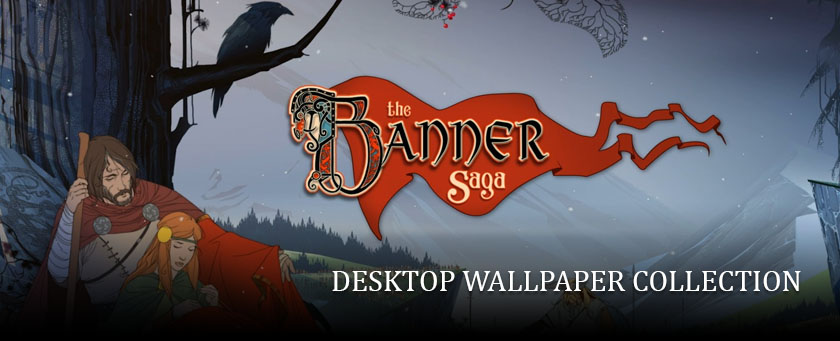 The Art of the Banner Saga Series: Desktop Wallpaper Collection