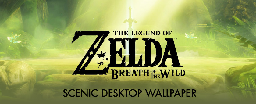Zelda: Breath of the Wild Scenic Desktop Wallpaper Collection