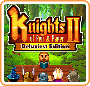 Knights of Pen and Paper 2 Deluxiest Edition Review | Switch RPG