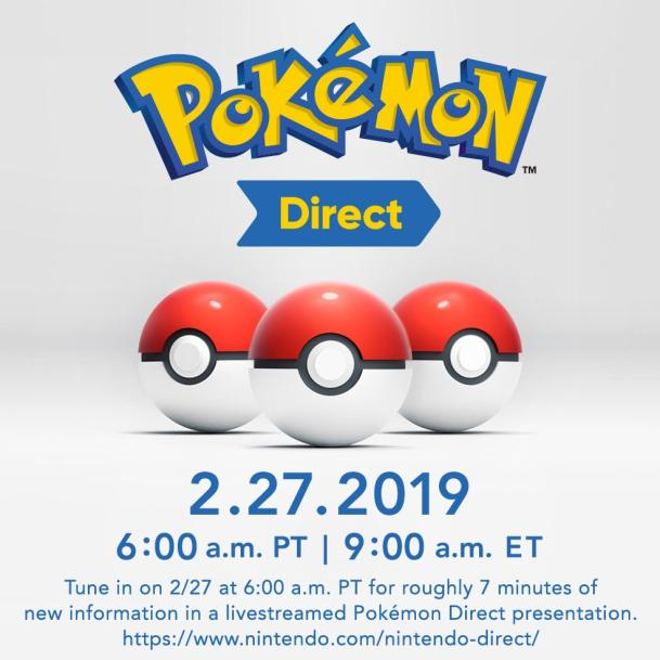 Join Us For The Pokemon Direct!