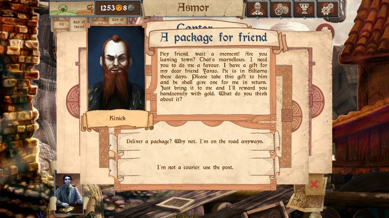 merchants of kaidan side quests