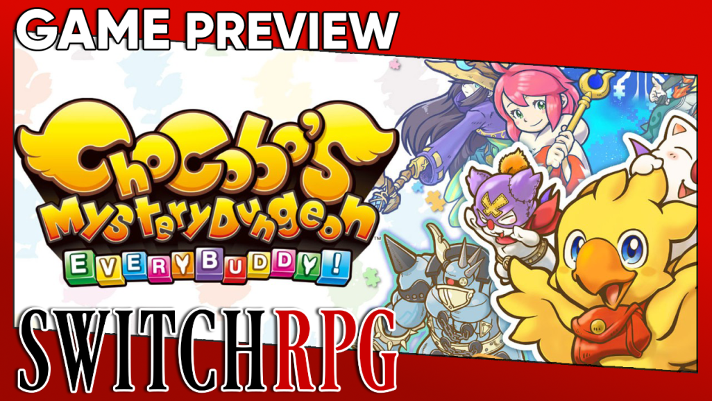 Chocobo's Mystery Dungeon: EVERY BUDDY! Preview