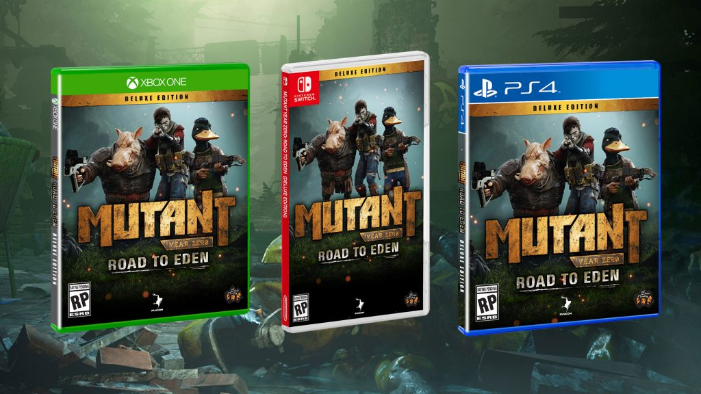 Mutant Year Zero: Road to Eden Announced For Switch