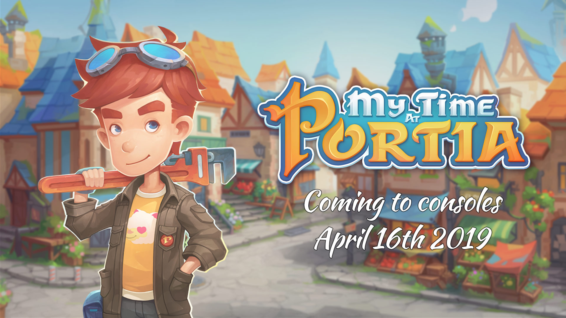 My Time At Portia - Coming to Switch April 16th 2019!