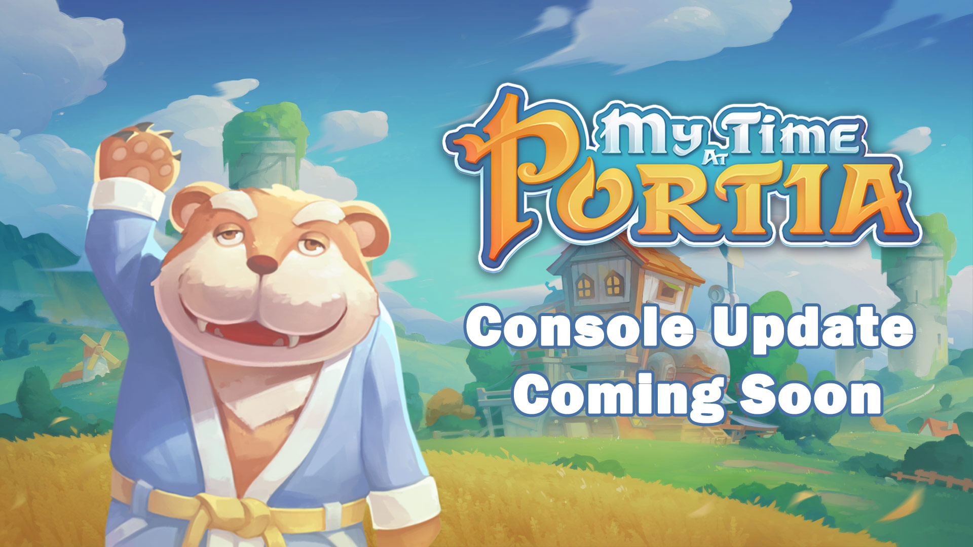 My Time At Portia: Update Coming To Consoles!