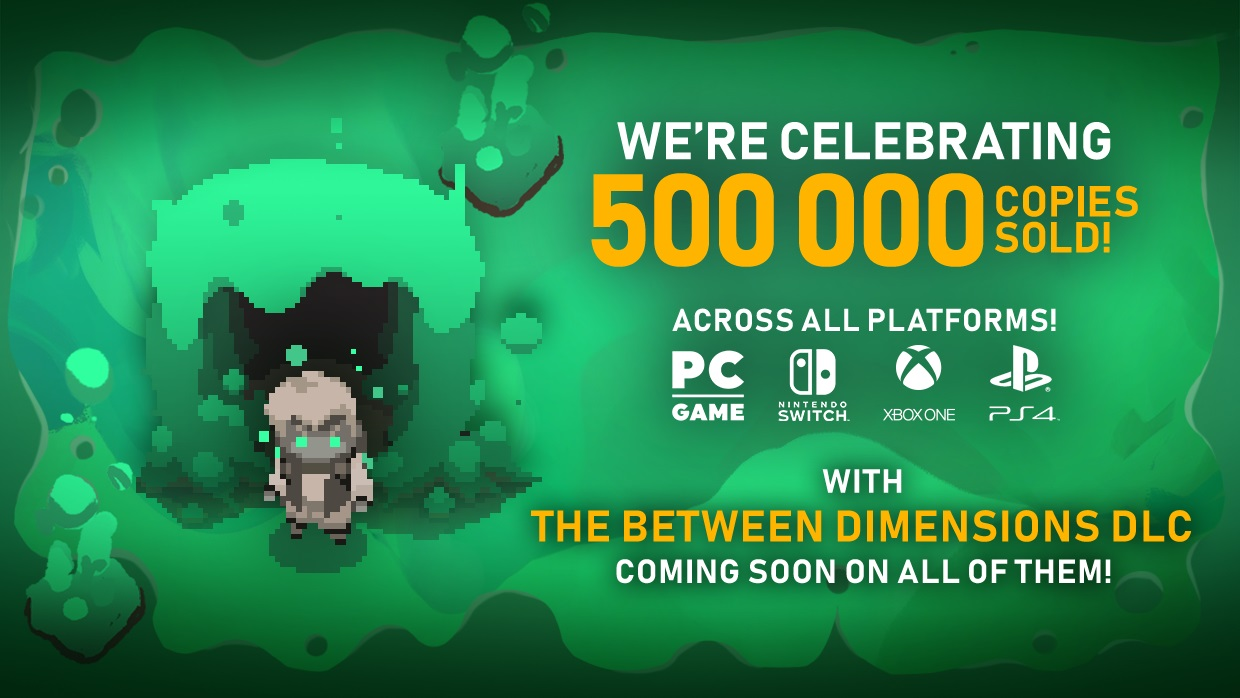 Moonlighter - 500,000+ Copies Sold And More DLC Announced