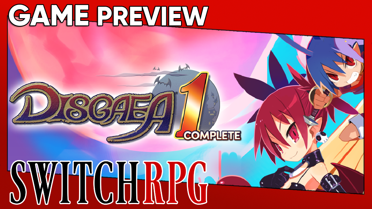 Disgaea 1 Complete Preview (Switch)