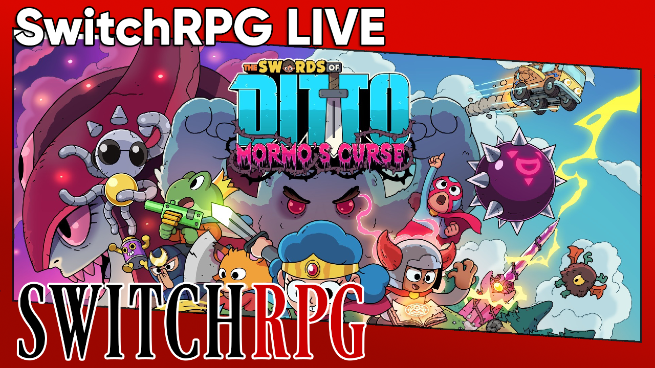 SwitchRPG Live - The Swords of Ditto: Mormo's Curse - Nintendo Switch Gameplay