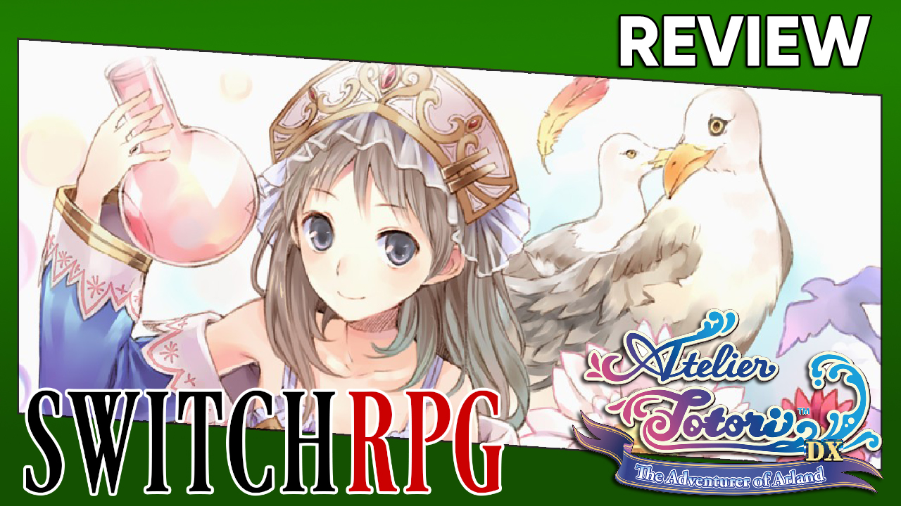 Atelier Totori ~The Adventurer of Arland~ DX Review (Switch)