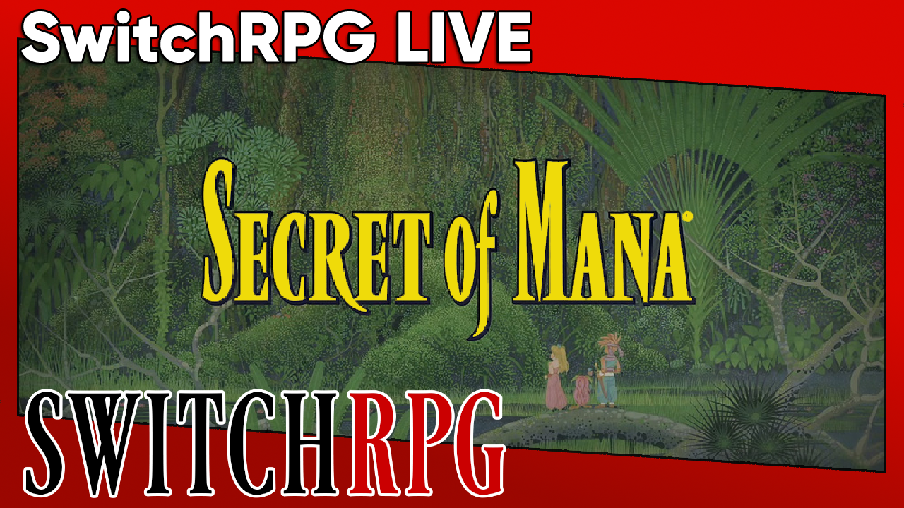 SwitchRPG Live - Secret of Mana (Collection of Mana) - Ice Palace