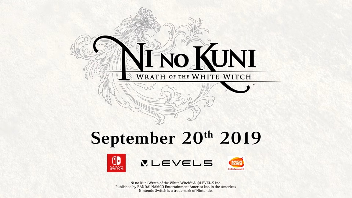 E3 Announcement: Ni no Kuni: Wrath of the White Witch launches September 20th