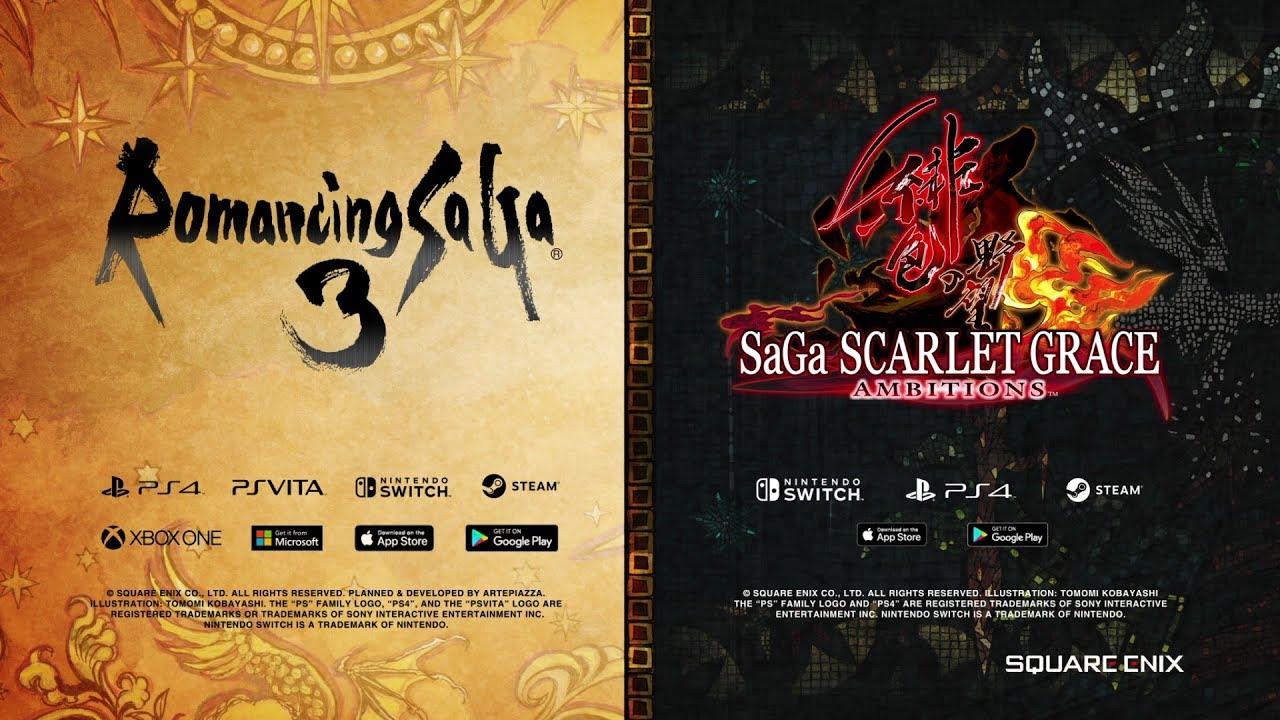 E3 Announcement: Romancing Saga 3 & Saga Scarlet Grace: Ambitions