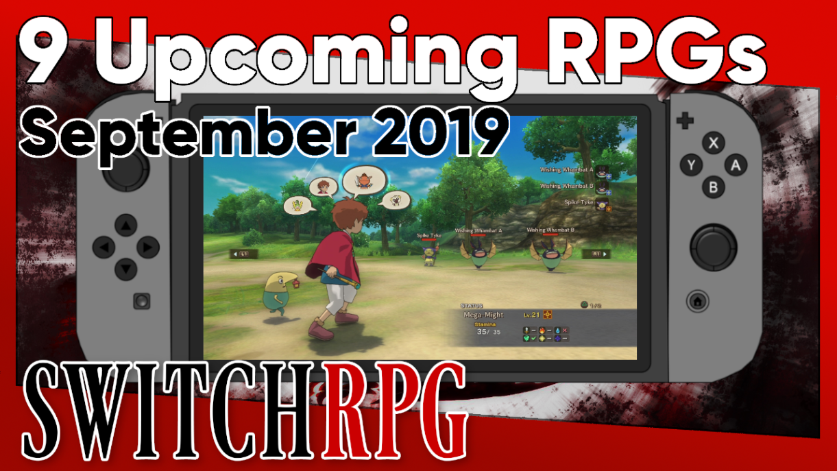 Nine Upcoming Switch RPGs in September 2019