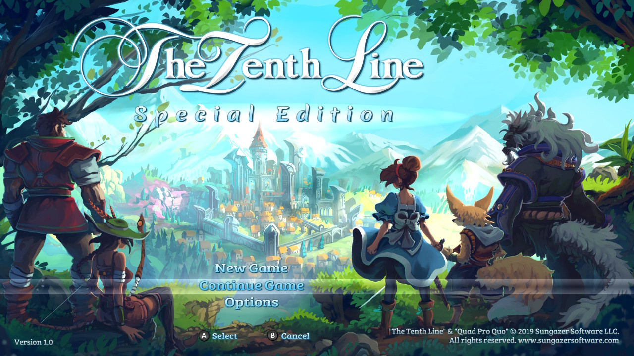 The Tenth Line Special Edition Review (Switch)