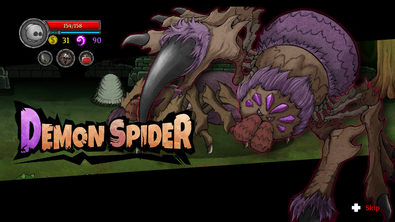 lost castle spider boss