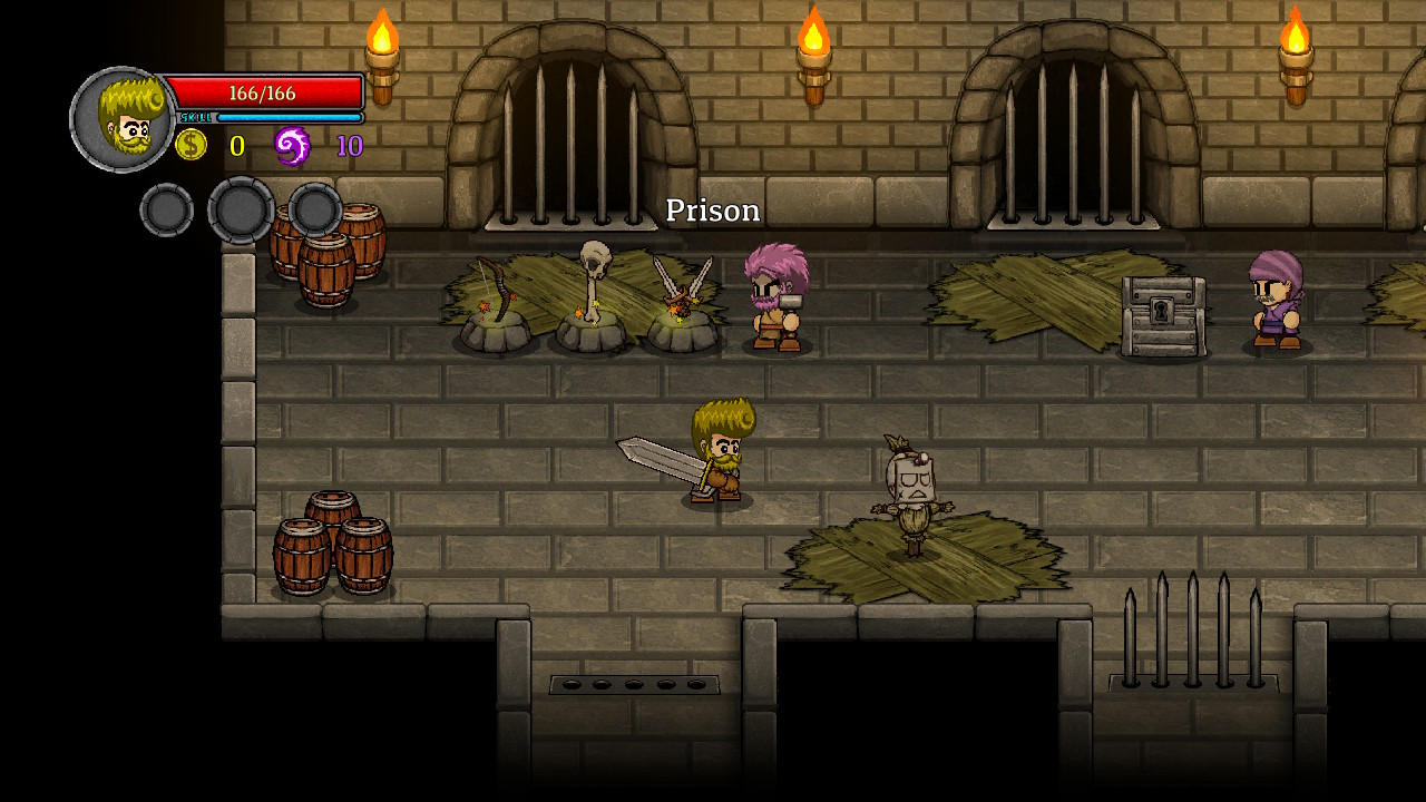 lost castle roguelike