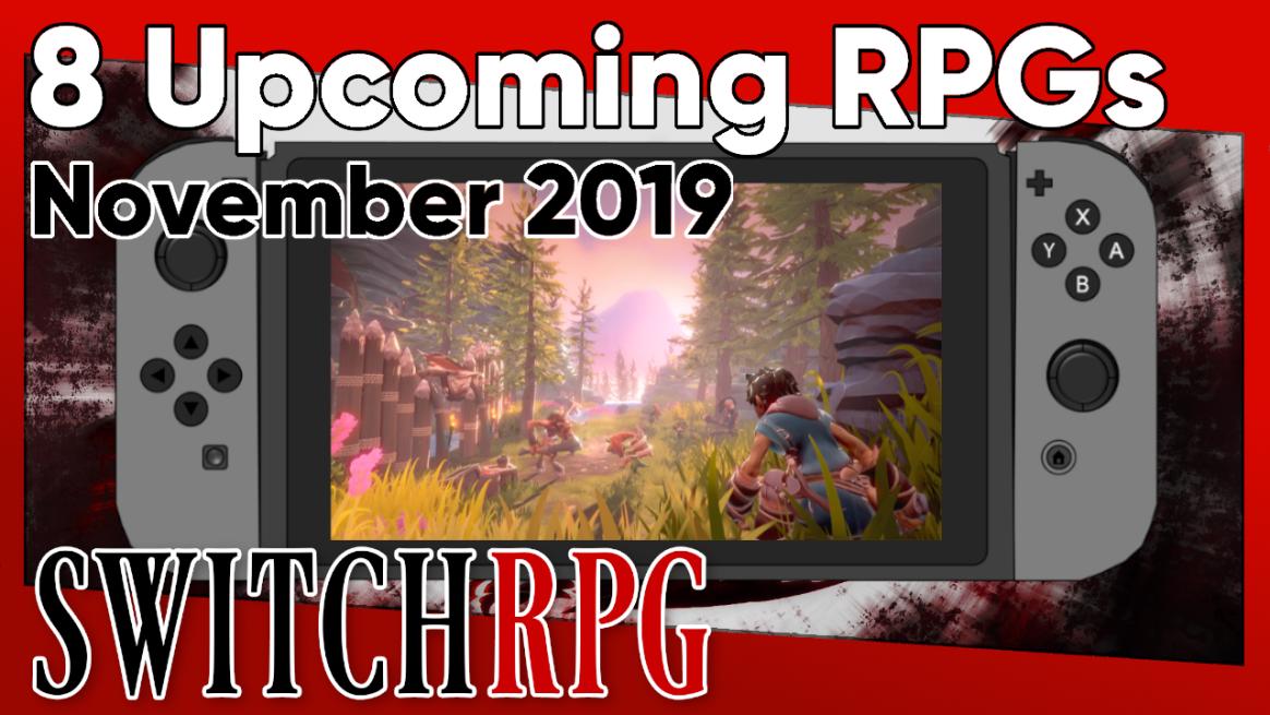 8 Upcoming RPGs in November 2019
