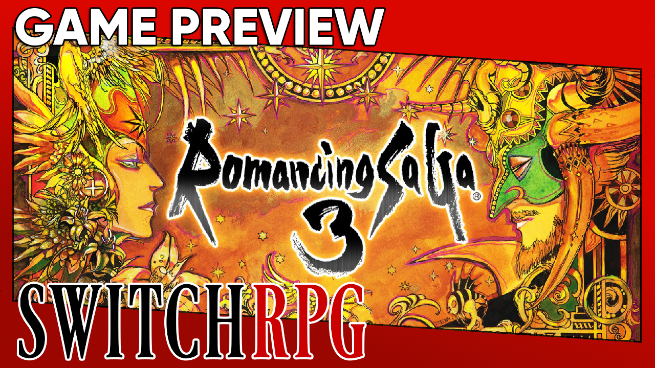 Romancing SaGa 3 Preview (Switch)