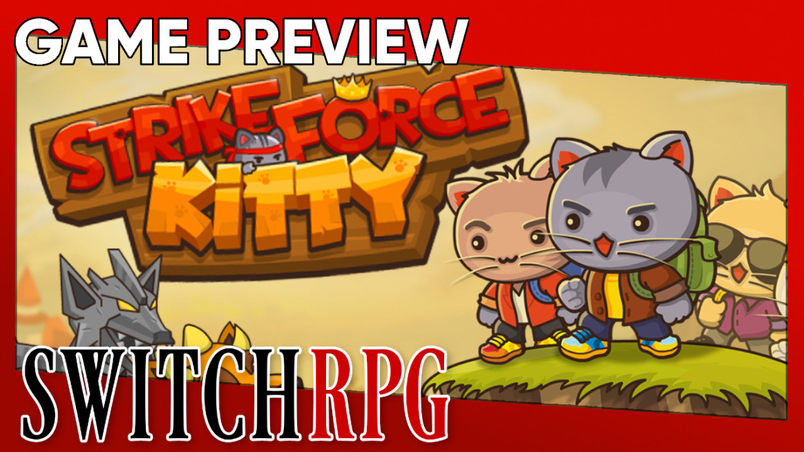Strike Force Kitty Preview (Switch)