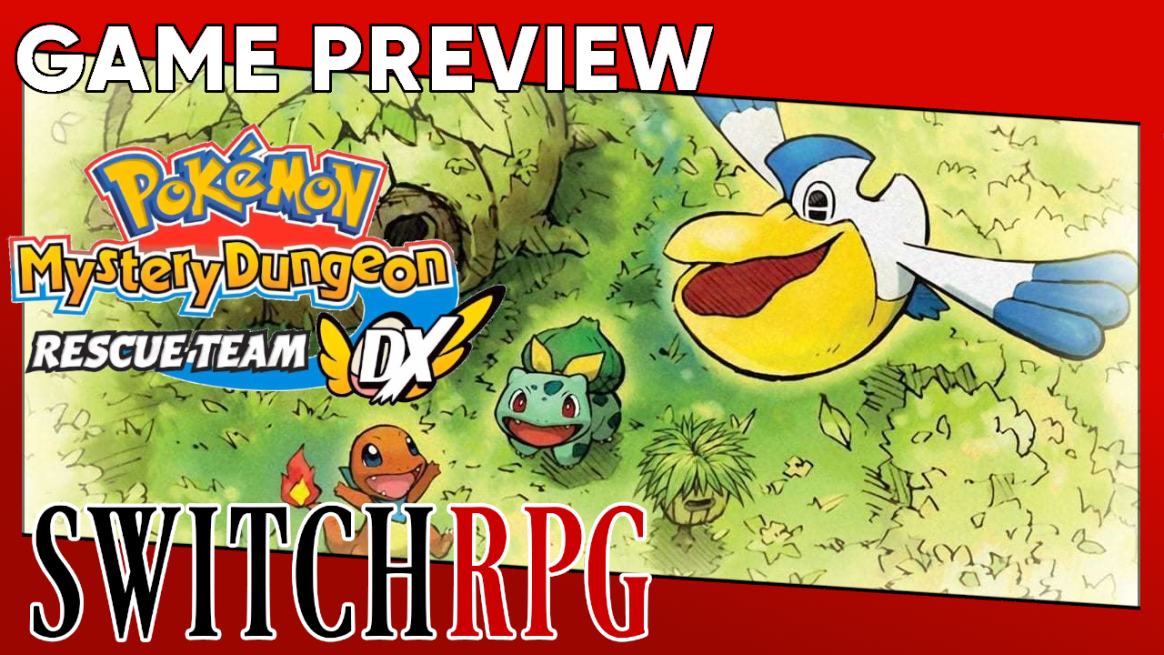 Pokémon Mystery Dungeon: Rescue Team DX Preview (Switch)