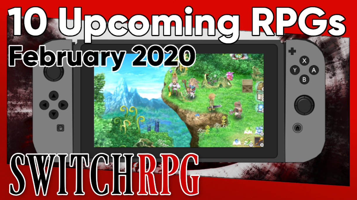 10 Switch RPGs Coming In February 2020