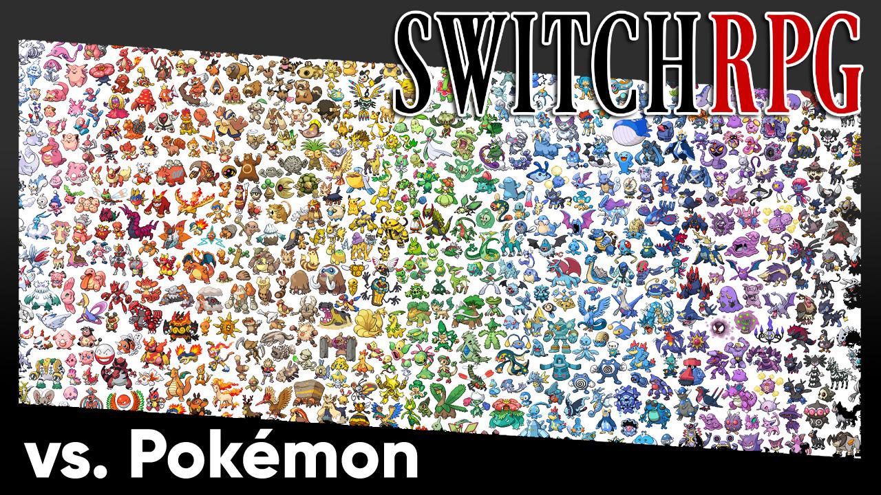 SwitchRPG vs. Pokémon: A Retrospective Series