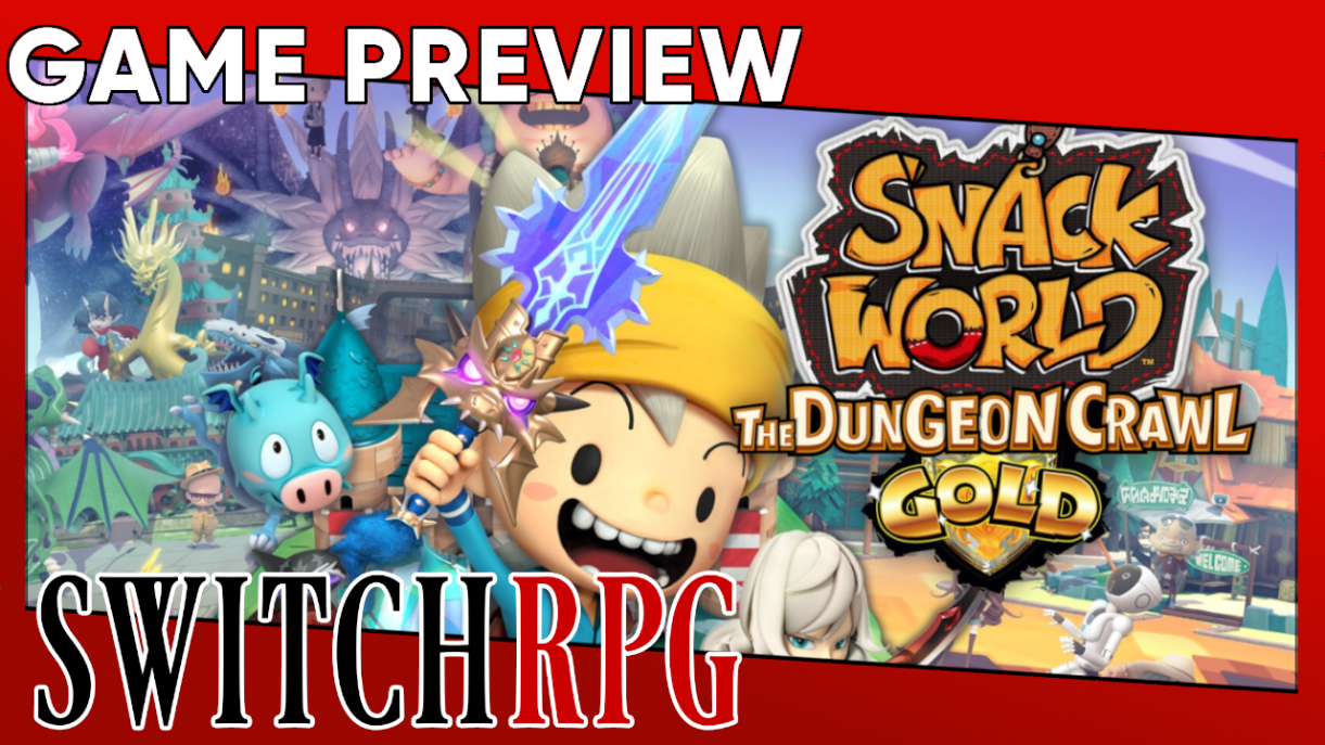 Snack World: The Dungeon Crawl - Gold Preview (Switch)