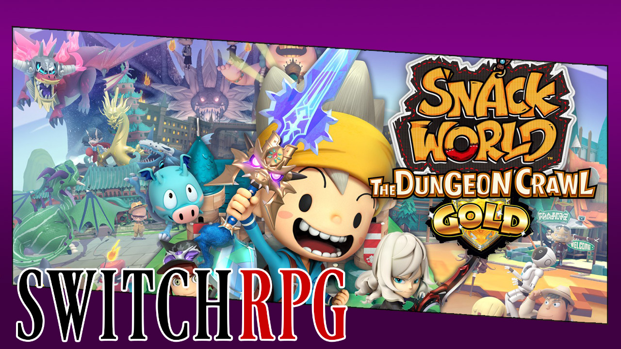 Snack World - The Dungeon Journal