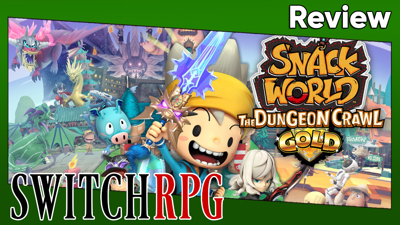 Snack World: The Dungeon Crawl GOLD Review (Switch)