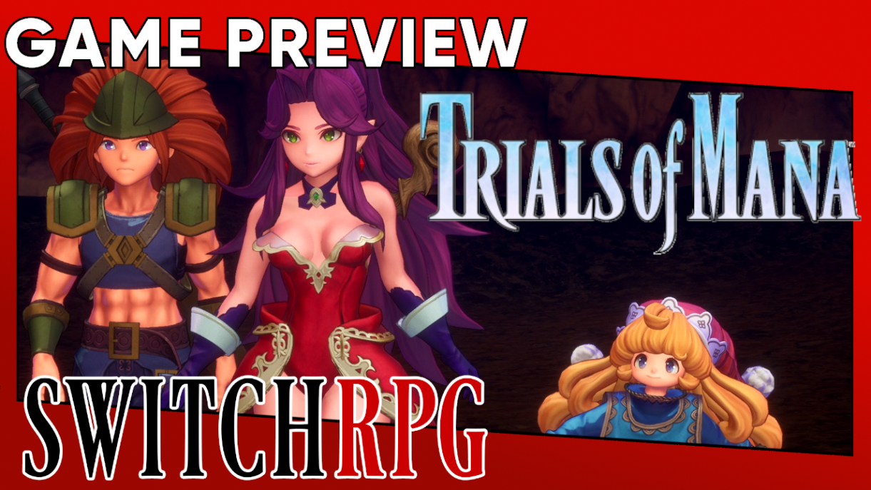 Trials of Mana Preview (Switch)