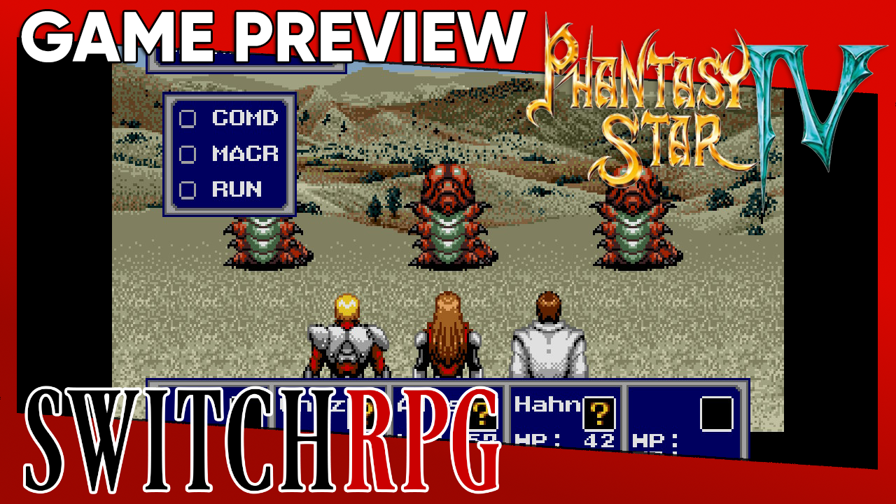 Phantasy Star IV Preview (Switch)