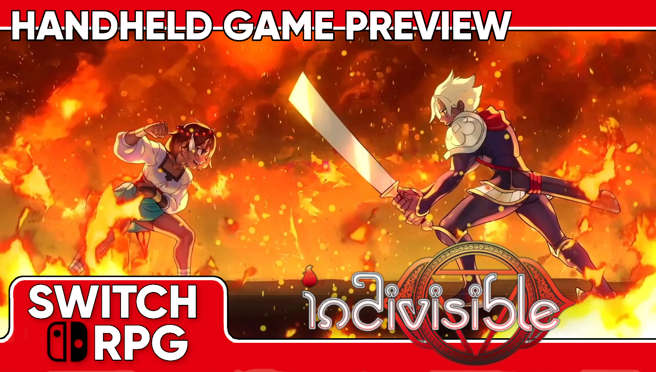 Indivisible Handheld Gameplay Preview (Switch)