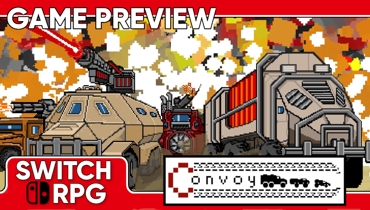 Convoy: A Tactical Roguelike Preview (Switch)