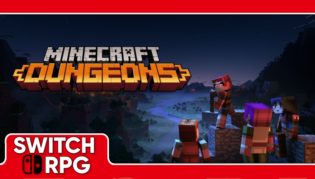 Let's Play Minecraft Dungeons (Switch)