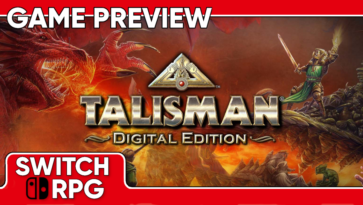 Talisman: Digital Edition Preview (Switch)
