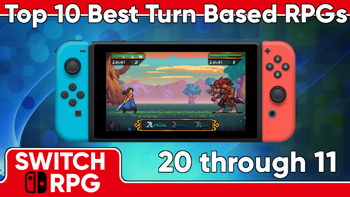 Best Turn-based Switch RPGs - Part One