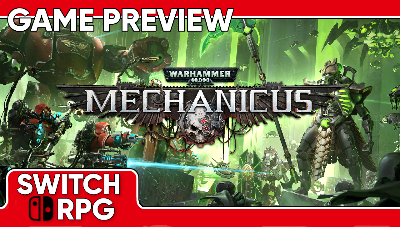 Warhammer 40,000: Mechanicus Preview (Switch)