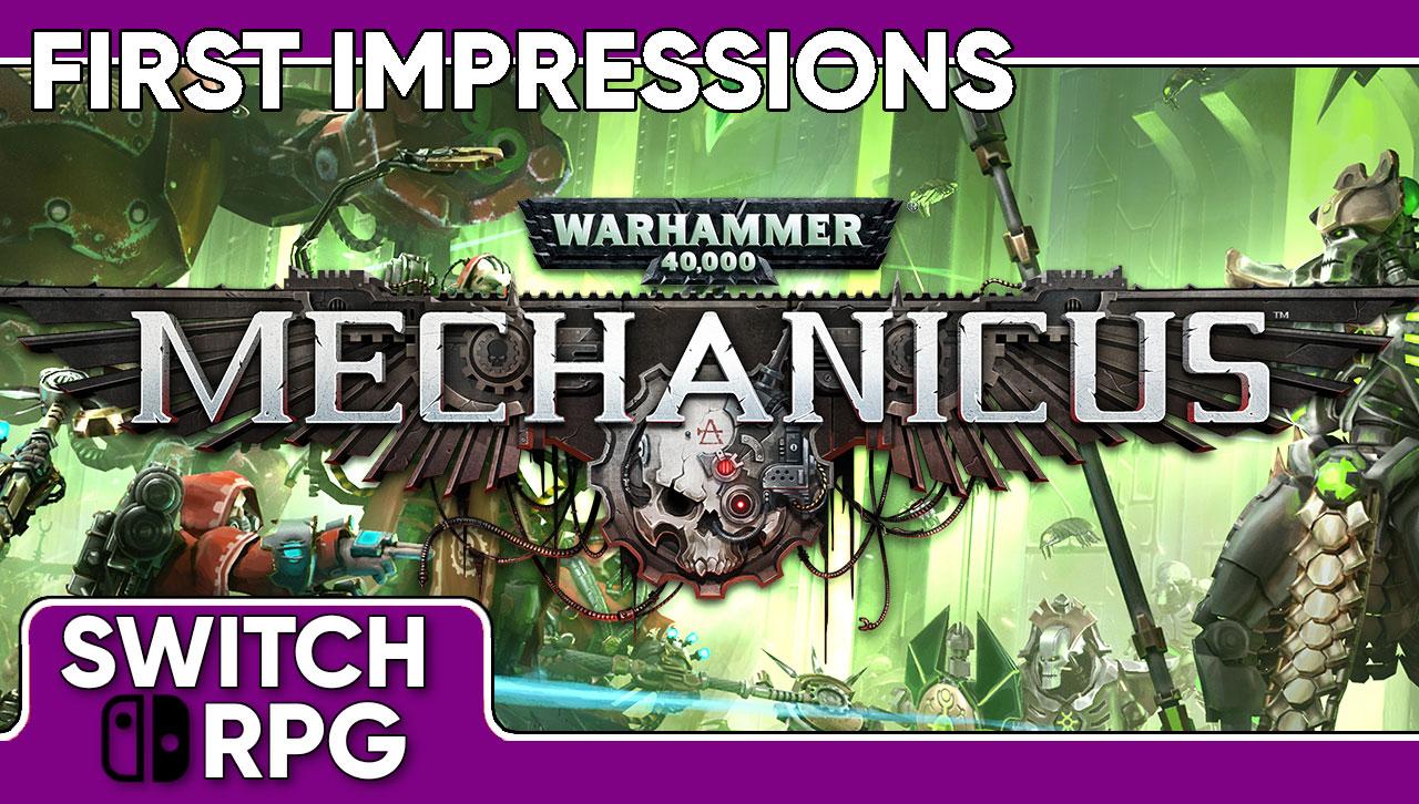 Libra: Warhammer 40,000: Mechanicus (Switch)