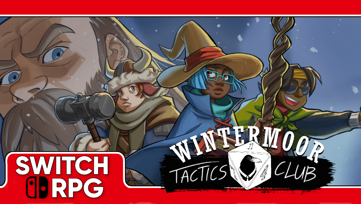 Let's Play Wintermoor Tactics Club (Switch)
