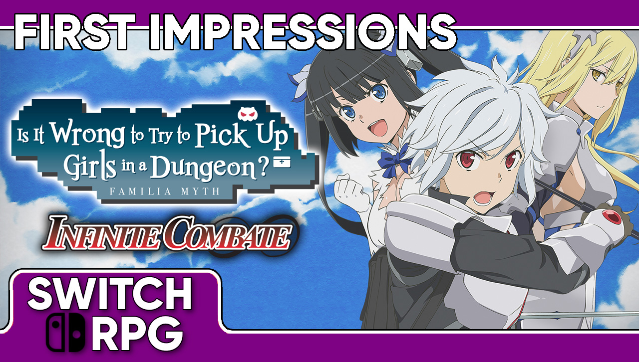 Libra: Is It Wrong to Try to Pick Up Girls in a Dungeon? (Switch)