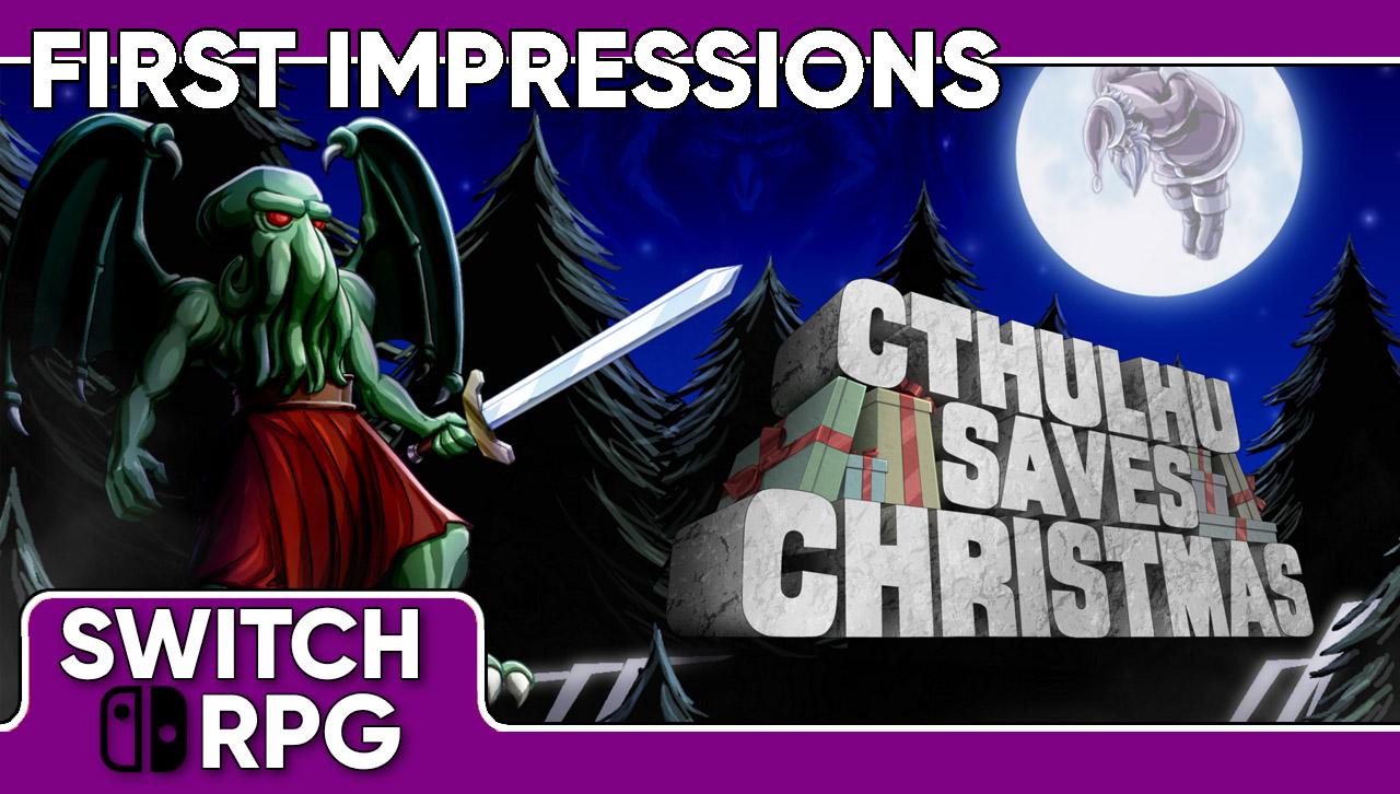 Libra: Cthulhu Saves Christmas (Switch)