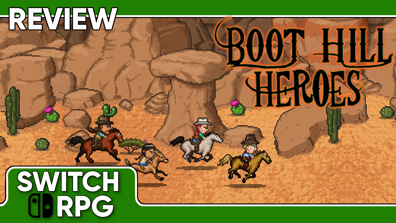 Boot Hill Heroes Review (Switch)