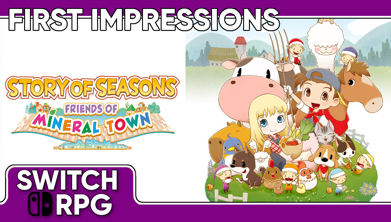Libra: Story of Seasons - Friends of Mineral Town (Switch)