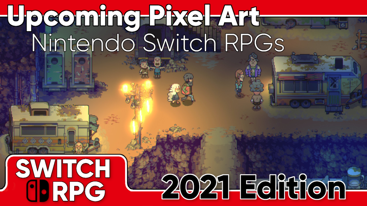 Pixel Art Switch RPGs Coming 2021