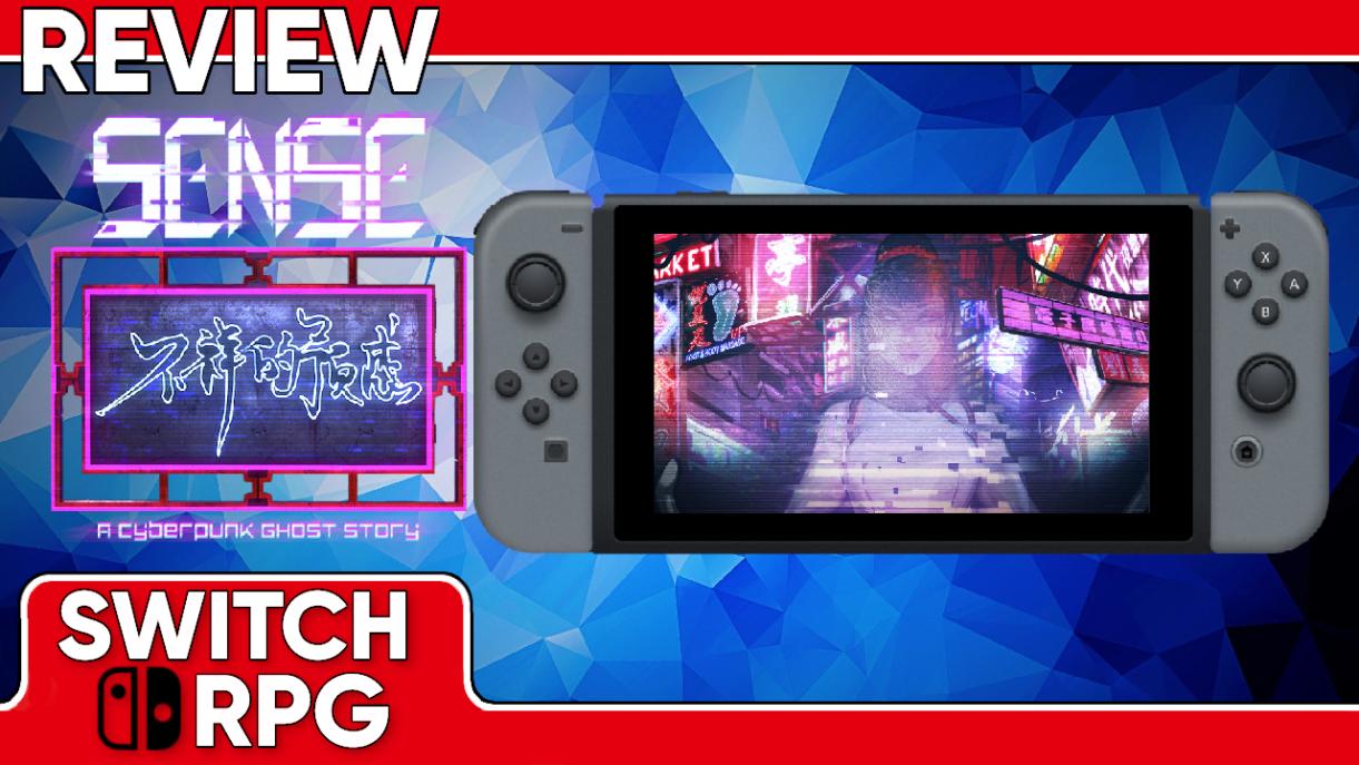 Sense - A Cyberpunk Ghost Story Video Review (Switch)