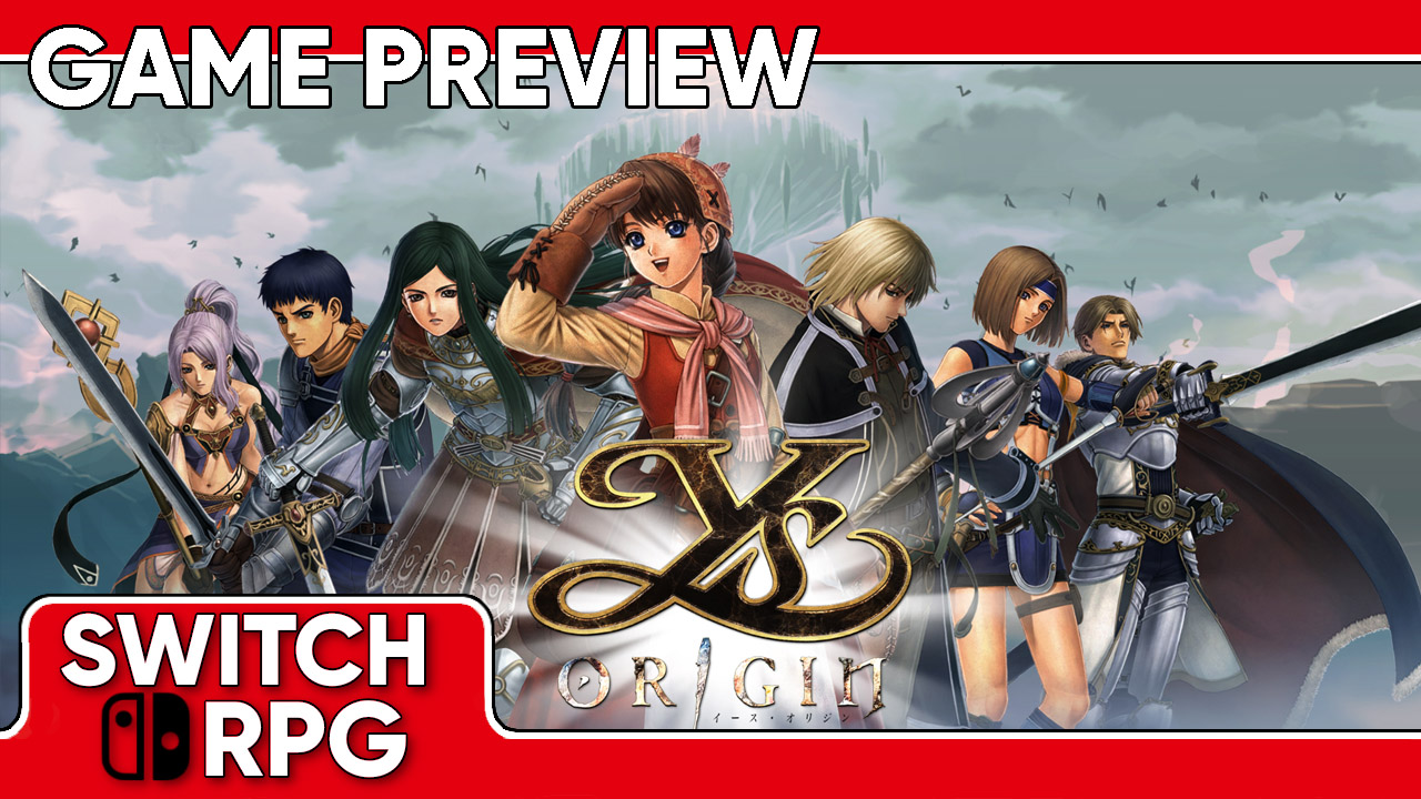 Ys Origin Preview (Switch)