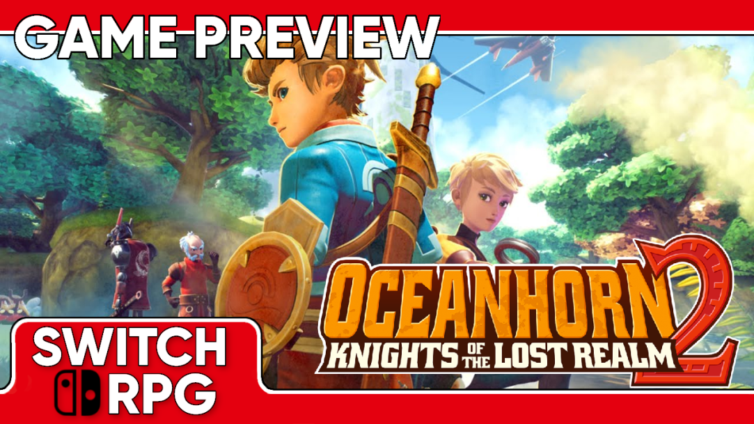Oceanhorn 2: Knights of the Lost Realm Preview (Switch)