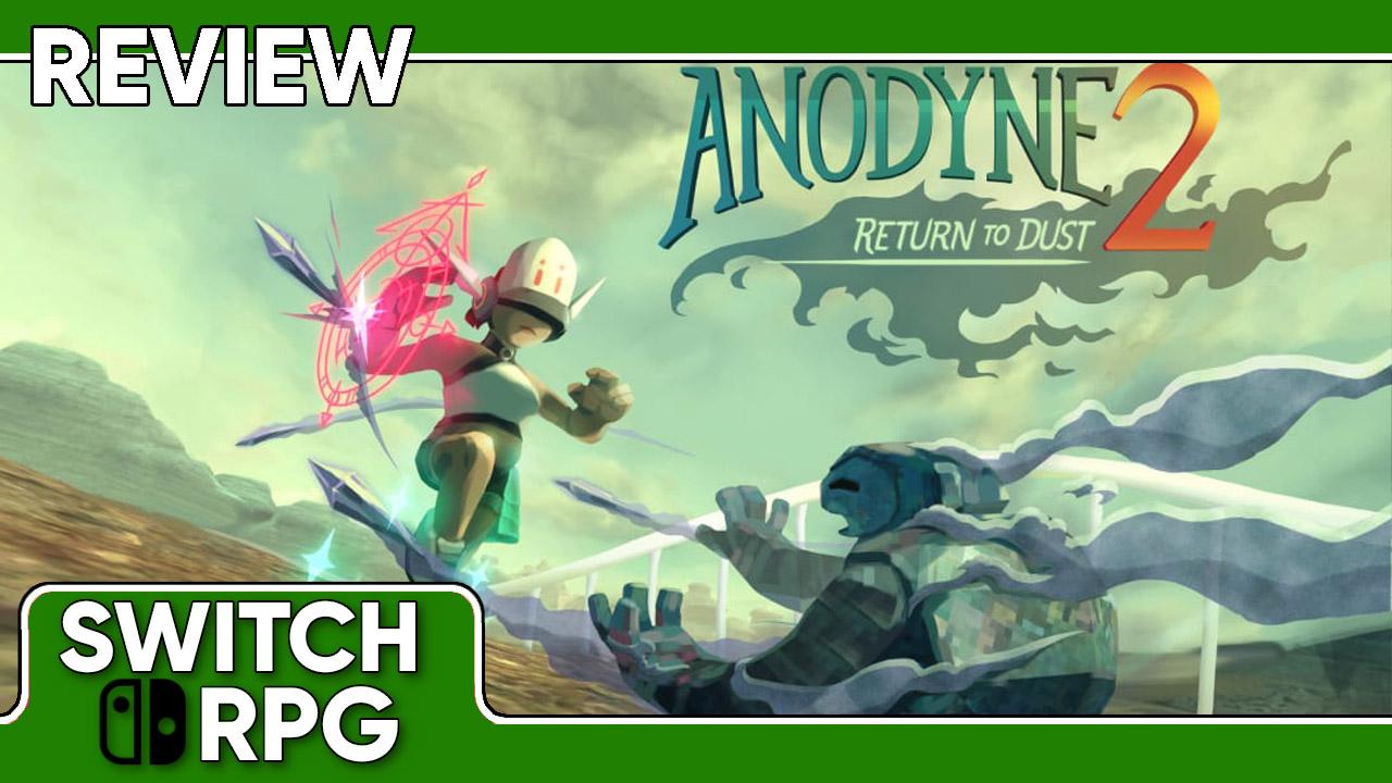 Anodyne 2: Return to Dust Review (Switch)