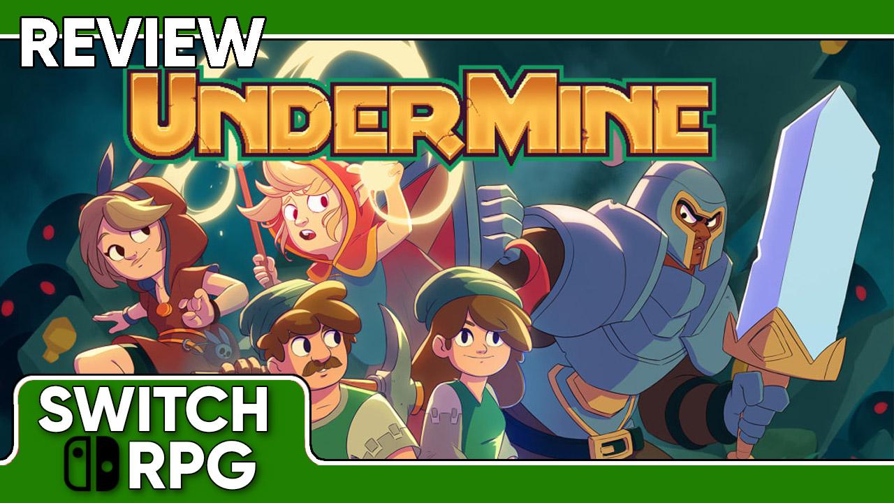UnderMine Review (Switch)