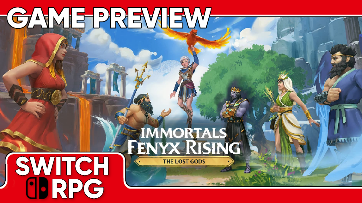 Immortals Fenyx Rising - The Lost Gods DLC Preview (Switch)